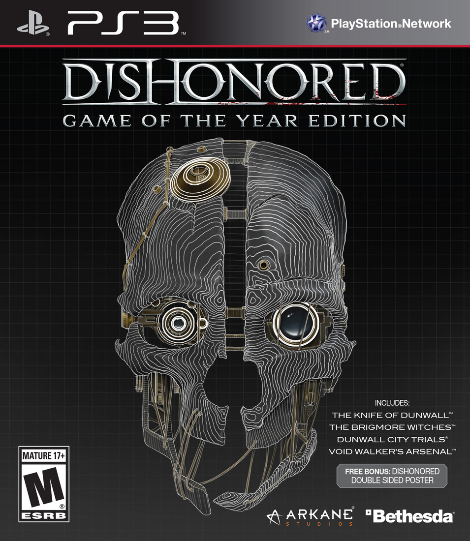 Edition For Ps3 Dishonored Game Of The Year Edition Ps3 Eur Tercyduk