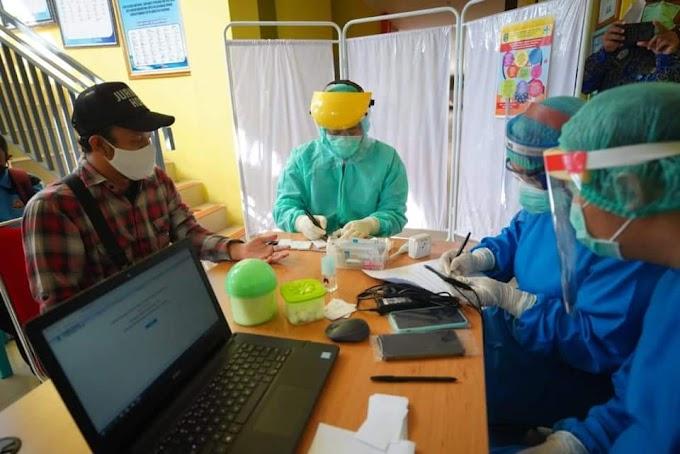 Pemkot Madiun Gelar Rapid Test Bagi Wartawan Untuk Deteksi Dini Covid-19