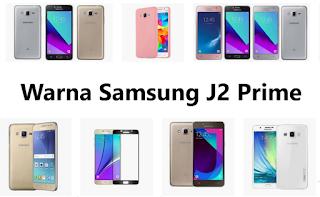 Warna Samsung J2 Prime Pink, Gold, Silver, Black
