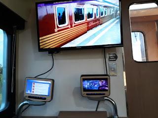 VAOD di sandaran tempat duduk kereta api priority