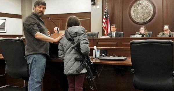 11-Year-Old Idaho Girl Supports Gun Freedom Bill By Carrying Loaded AR-15 Into Statehouse