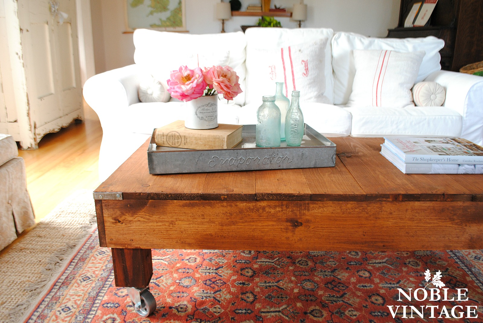 Anyway, The Table I Brought Home Was A Great Piece, And I Sold It Last Year  As A Rustic Industrial Coffee Table.