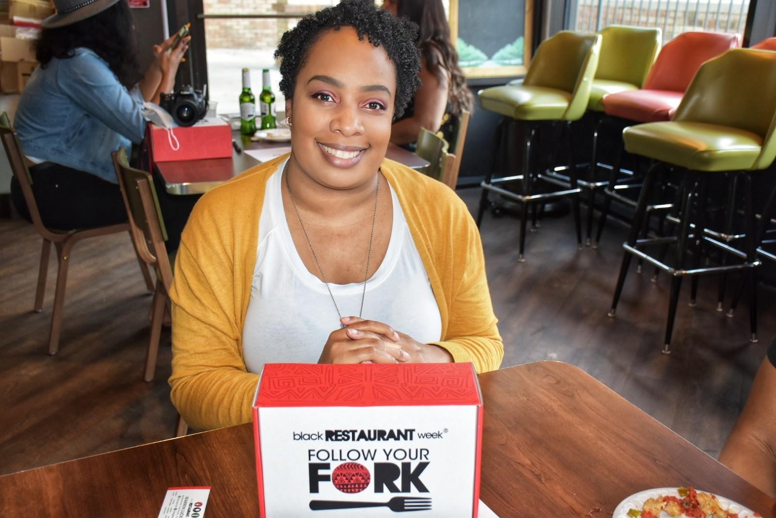 Celebrating Black Restaurant Week at Nancy's Pizzeria in Dunwoody, Georgia