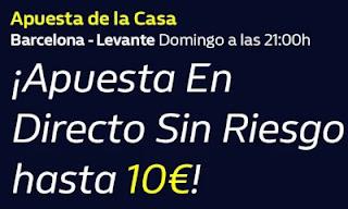 William hill promo Barcelona vs Levante 13-12-2020