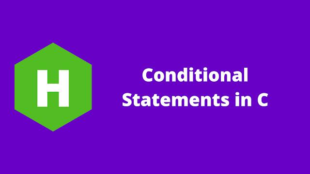 HackerRank Conditional Statements in C Problem solution