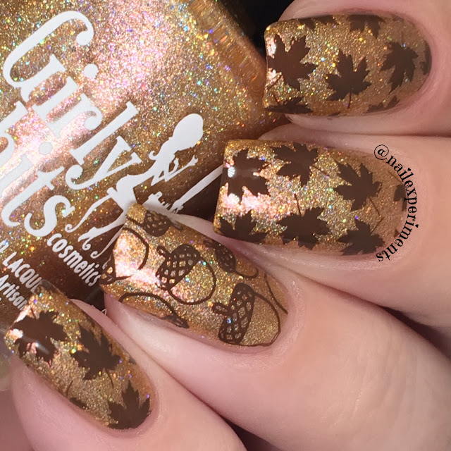 girly bits butterbeer latte september 2017 cotm colour of the month