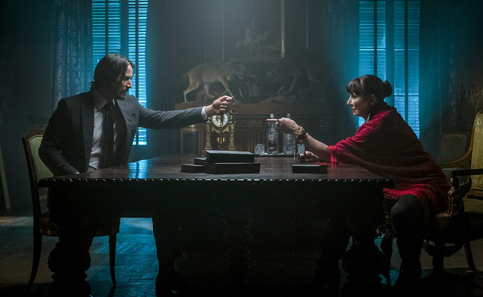 John Wick, John Wick Chapter 3, Parabellum, Keanu Reeves, Halle Berry, Action, Rawlins GLAM, Movie Review by Rawlins, Laurence Fishburne,