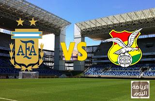 نتيجة المباراة المنتخبين الأرجنتيني و البوليفي في ( كوبا أمريكا 2021 ) 28/6/2021