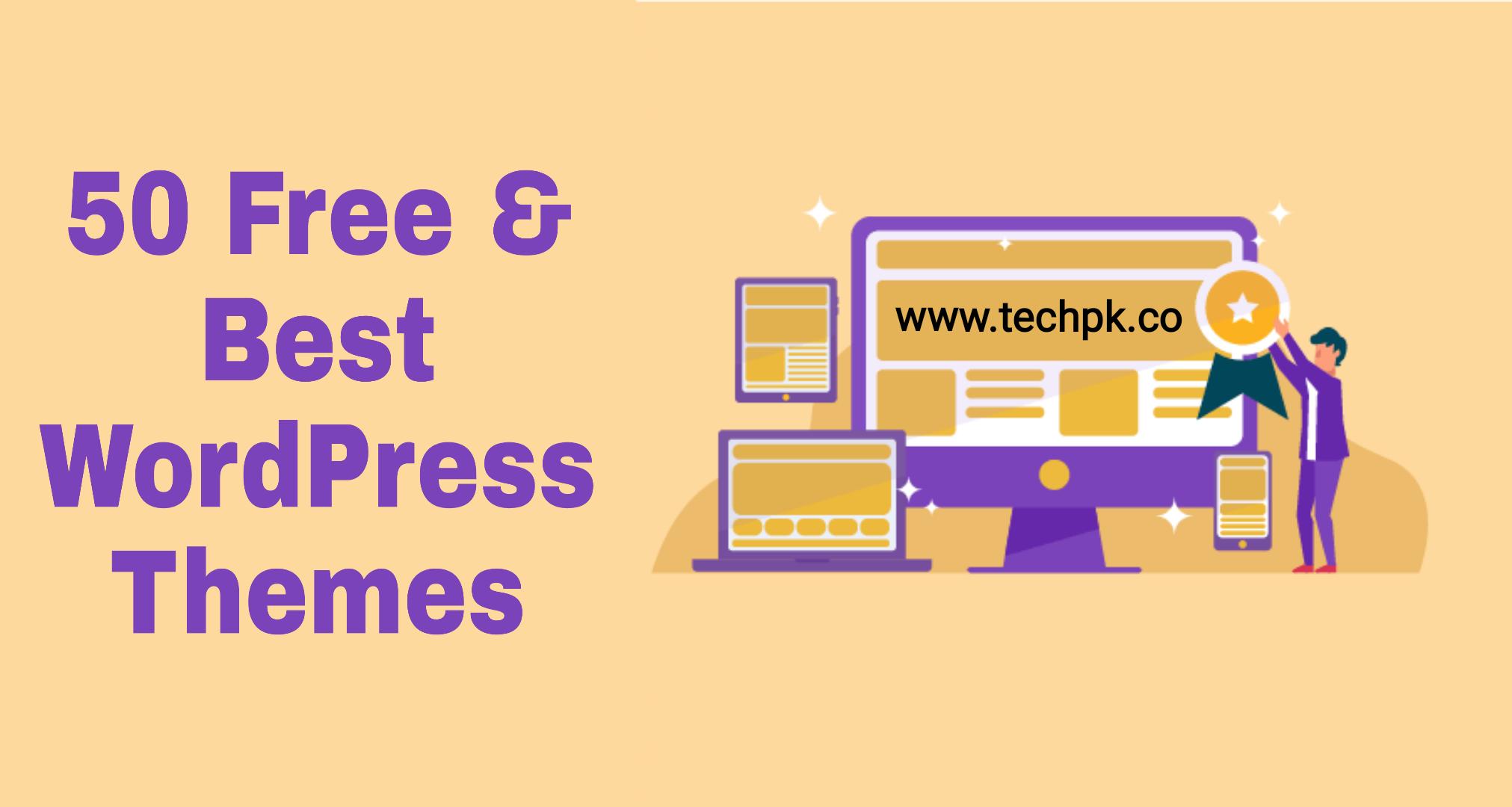 50 Free and Latest WordPress the