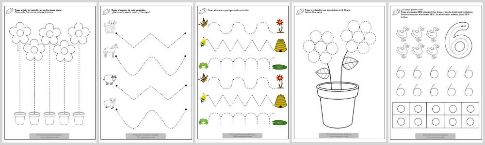 ACTIVIDADES-PREESCOLAR-NIÑOS-IMPRIMIBLES-MAMAYNENE-EDUCACION-INFANTIL-TRAZOS-GRAFOMOTRICIDAD