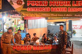 Ansor KBB Buka Posko Mudik Lebaran 2018 di Tiga Titik