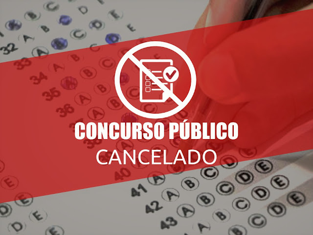 Cancelado Concurso Público de Panelas (PE) e demais prefeituras que fazem parte do CONIAPE