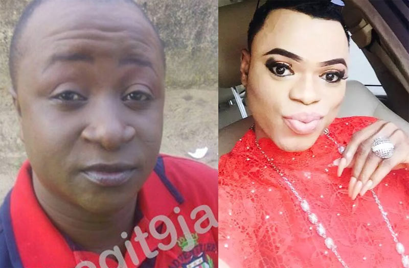Jesus wept! Warri Bobrisky emerges, challenges Lagos-based gay in his own game