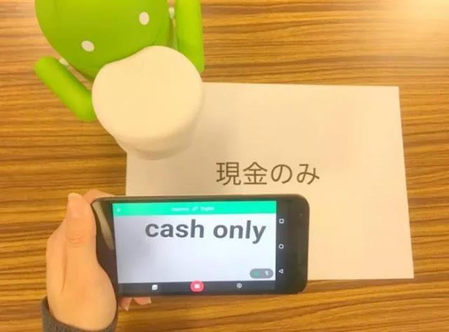 Ternyata Google Punya Kamera Instan Yang Bisa Menerjemahkan 88 Bahasa loh