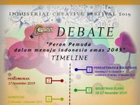 Lomba Debat Mahasiswa Nasional 2019 di Universitas Islam Negeri Sulthan Syarif Kasim