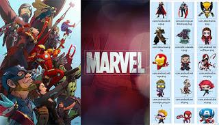 Tema Marvel itz Untuk Vivo