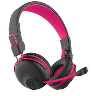 JLab Audio JBuddies Play Wireless Kids Headset, Pink & Black - $39.99 Each