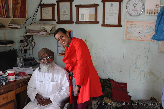 Bhushavali and Ismail Khatri Ajrakh Print Bhuj