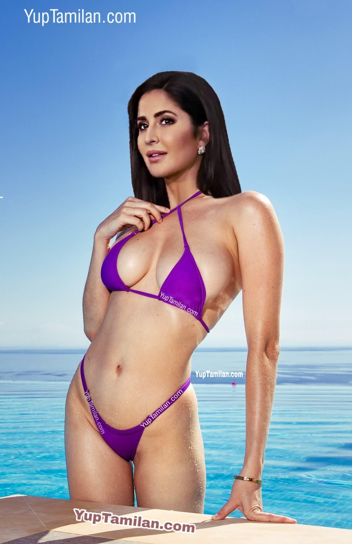 Katrina Kaif in Sexy BIkini near Beach
