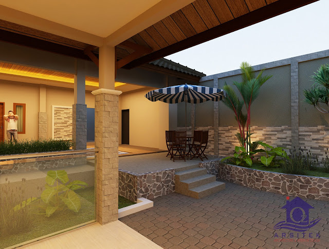 Desain Renovasi Rumah Ibu Lucy di Klaten