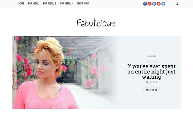 Best Fabulicious Blogger Template