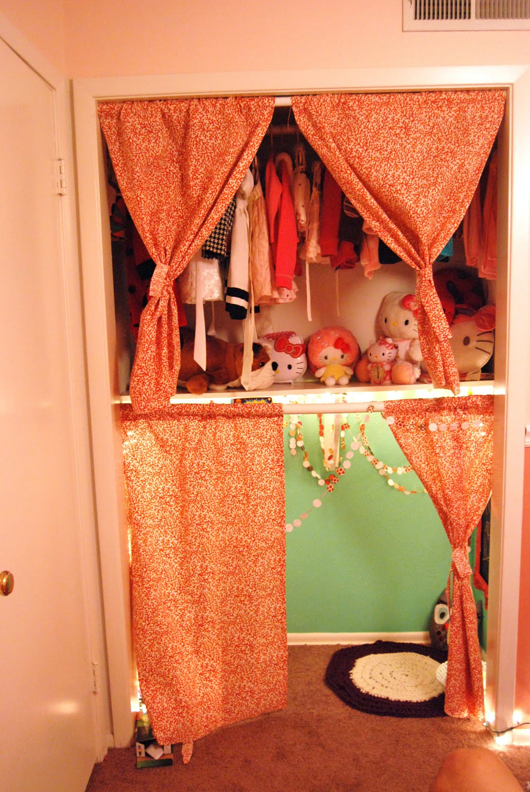 Our Changing Home Mia S New Closet Nook