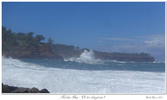Keokea Bay:  Or too dangerous?