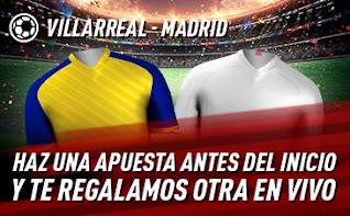 sportium Promo Villarreal vs Real Madrid 21 noviembre 2020
