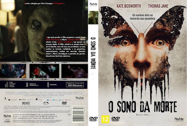 Capa DVD O Sono Da Morte