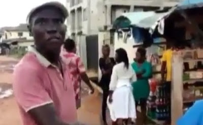 Man strips, threatens to rape PHCN official (video)