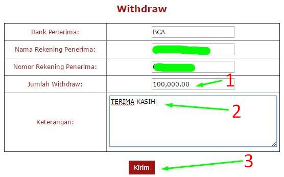 Panduan Withdraw Game Togel Online | Vegasgroup | VEGASGROUP