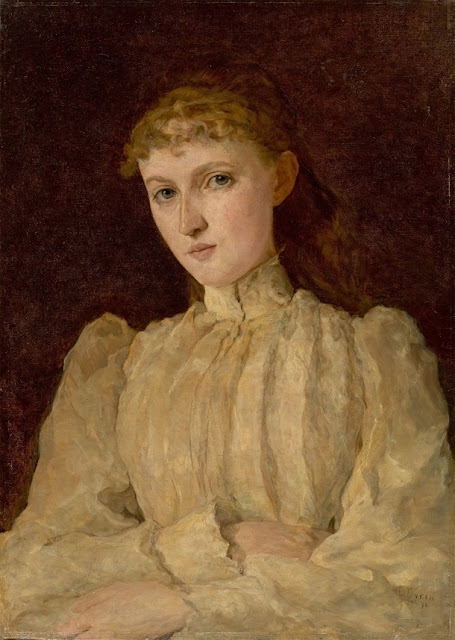 Louis Eysen Портрет молодой женщины