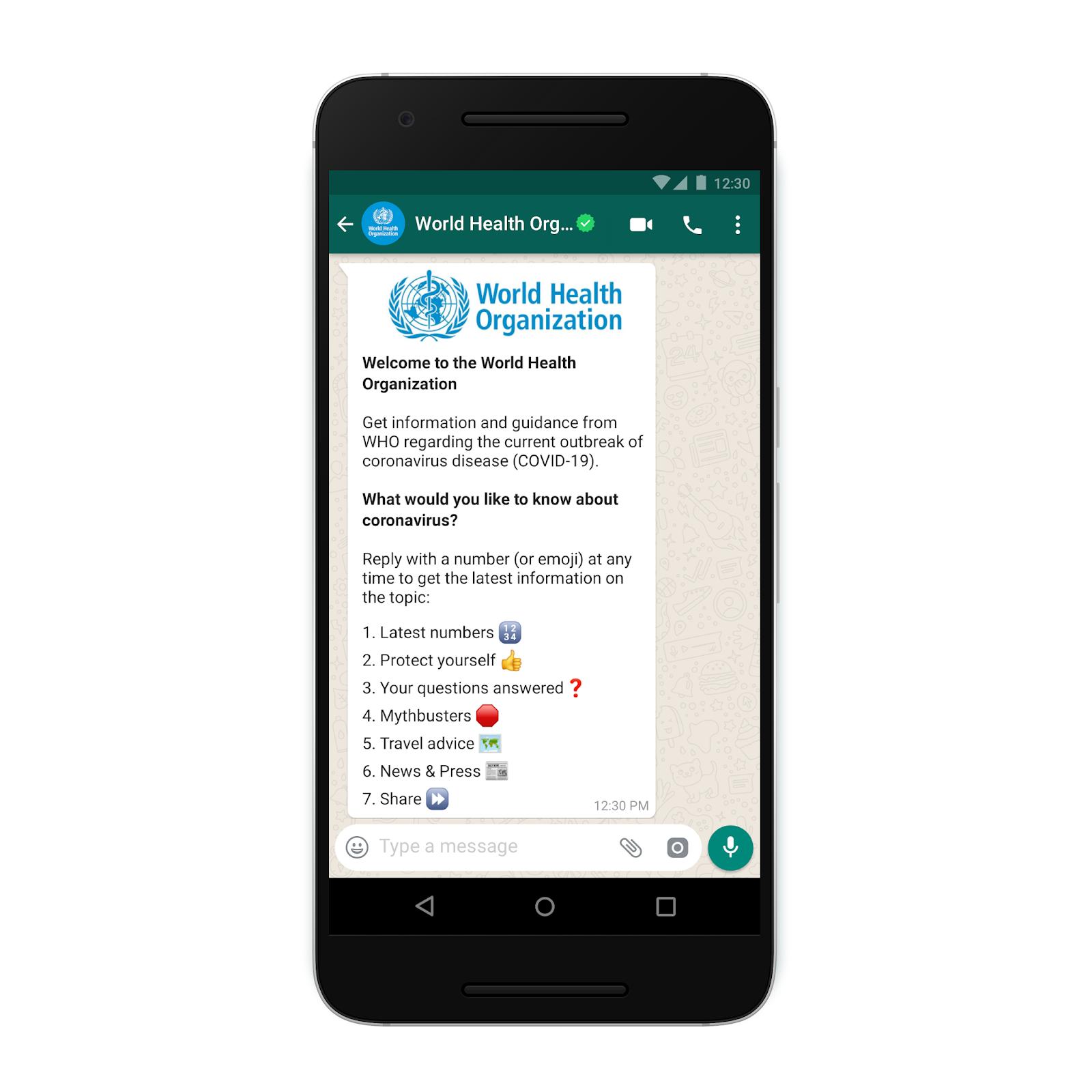 WhatsApp risponde alle tue domande sul Coronavirus contro le Fake News