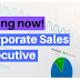 Walk in interview for Sales Executive - Corporate Sales