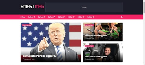 SmartMag Blogger Template