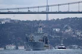 US Coast Guard patrol ship Hamilton entered the Black Sea