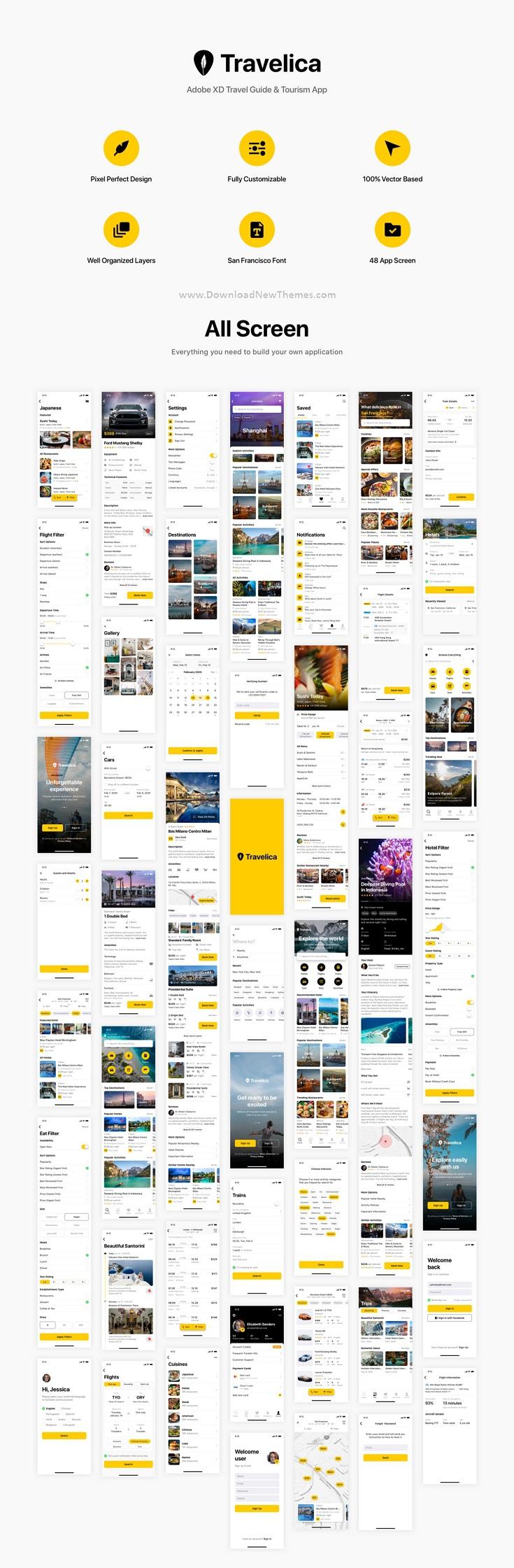 Travel Guide & Tourism App