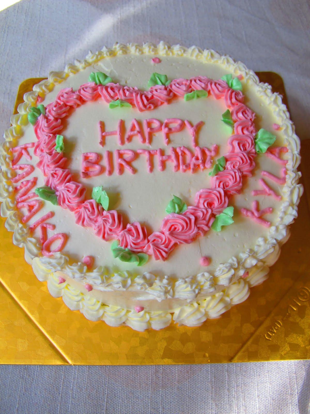 Birthday Cake Flowers Roses