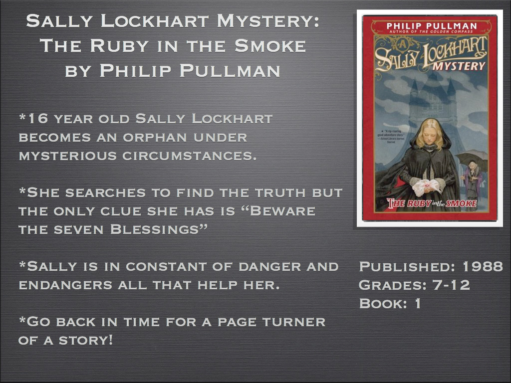 Sally Lockhart Mystery: The Ruby in the Smoke by Philip Pullman