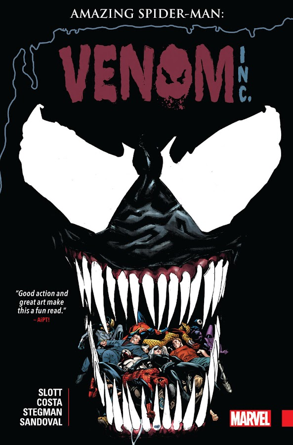 amazing spider-man venom inc. marvel comics anti-venom spidey black cat maniac dan slott mike costa gerardo sandoval ryan stegman