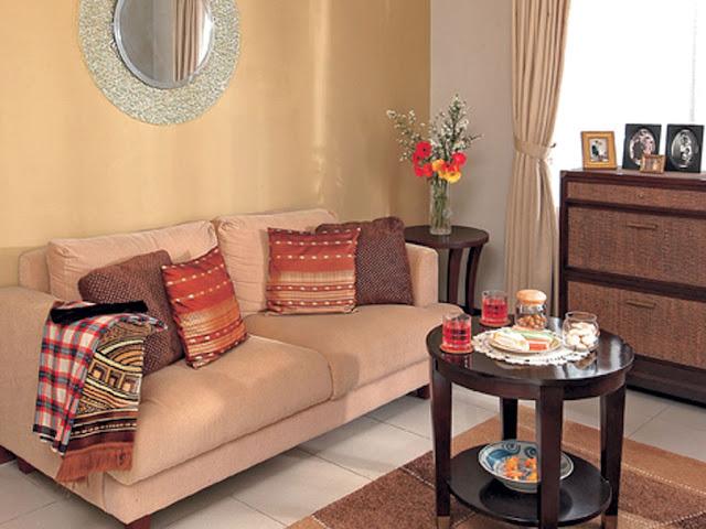 interior ruang tamu minimalis dan sederhana