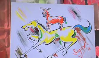 majnu bhai's painting (anil Kapoor as Majnu bhai) | Best welcome movie meme templates & dialogue