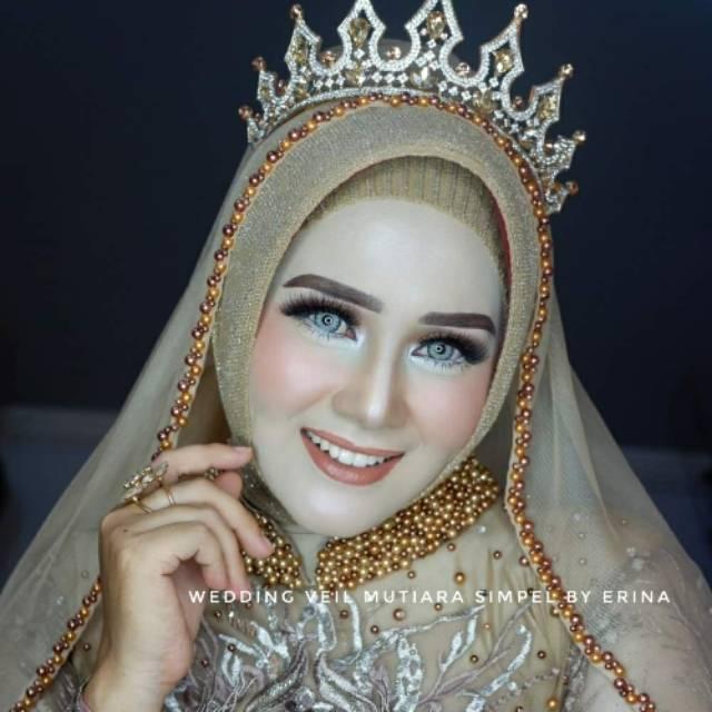 rias pengantin adat jawa untuk wajah bulat