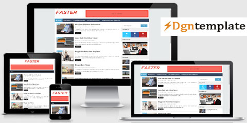 Faster Responsive Blogger Template | high-quality themes