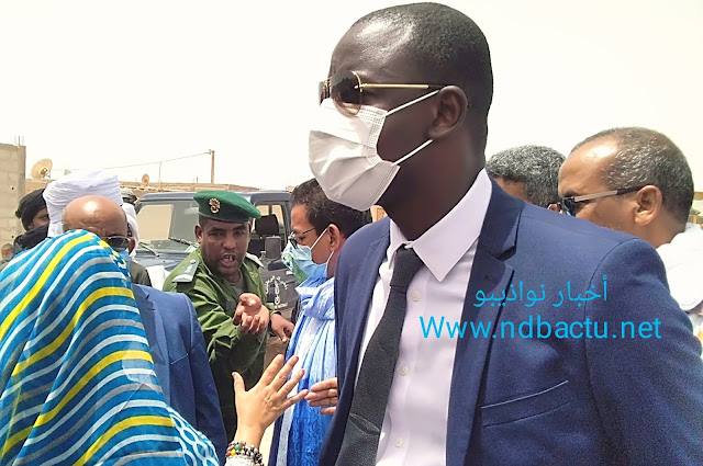نواذيبو : رئيس سلطة المنطقة الحرة يمتنع عن الحديث باللغة الفرنسية لقناة الموريتانية..