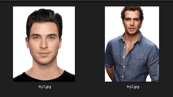 Bahan tutorial menggabungkan dua wajah