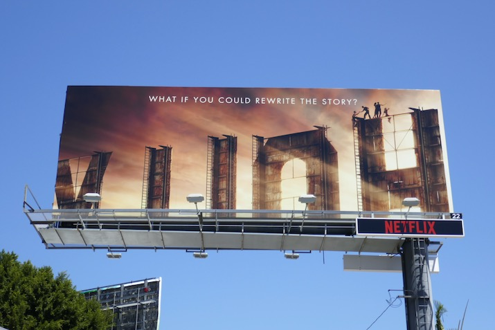 Hollywood Netflix series billboard