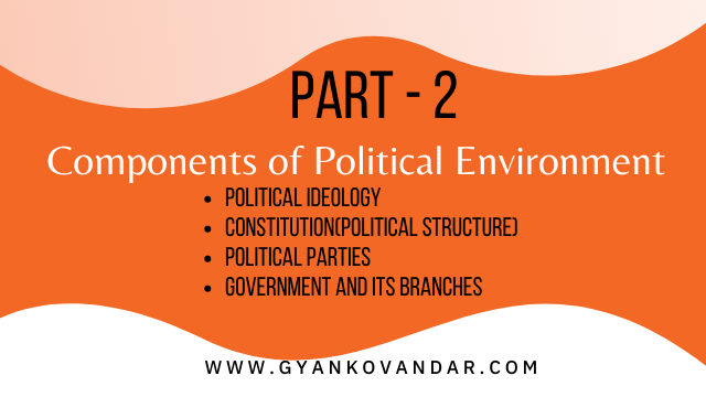 Components of Political Environment | Political Environment