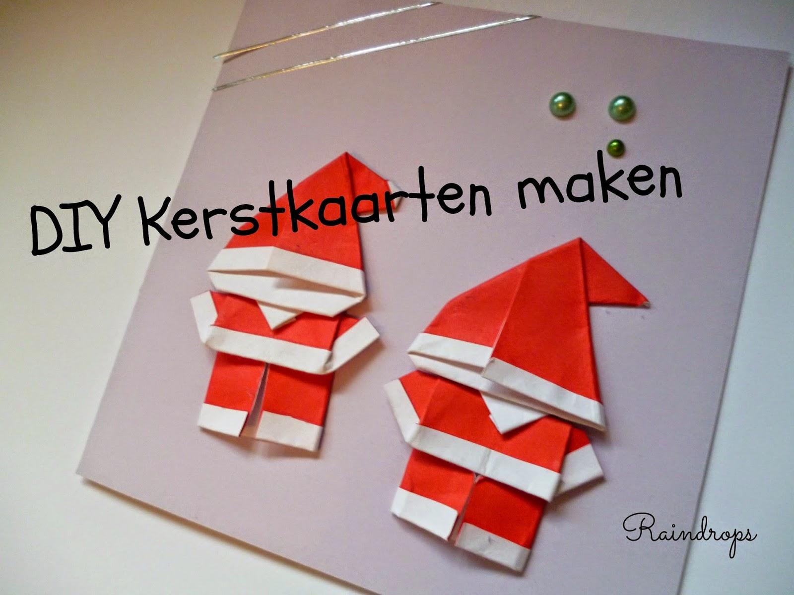 New Raindrops: DIY Kerstkaarten maken #PL57