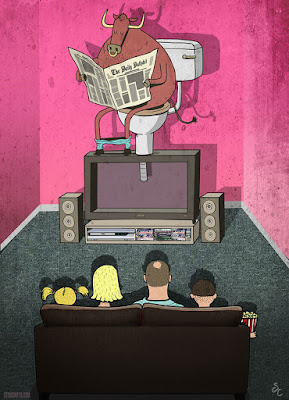 Ilustración televisión